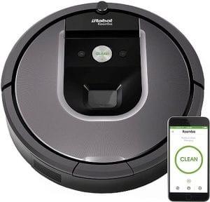iRobot Roomba 960 robotstofzuiger met appbediening